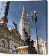 Soldiers' And Sailors' Monument Canvas Print