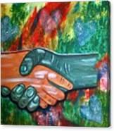 Solidariedade Canvas Print