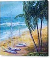 Soliman Bay Canvas Print