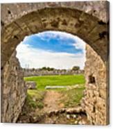 Solin Ancient Arena Old Ruins Canvas Print