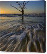 Solitude At Botany Bay Canvas Print