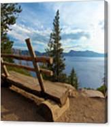 Solitude At Crater Lake Canvas Print