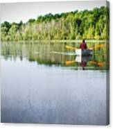 Solitude On Susan Lake Canvas Print