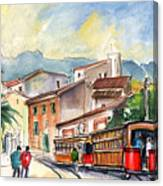 Soller In Majorca 01 Canvas Print