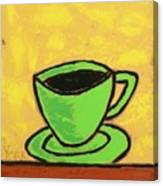 Solo Coffee II Canvas Print