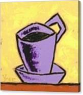 Solo Coffee IIi Canvas Print