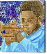 Solo Trumpet Canvas Print