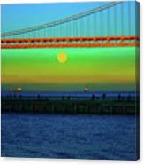 Solstice Bay Canvas Print