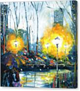 Solstice In The City, Vol.1 Canvas Print