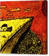 Sombras E Vidas Secas Canvas Print