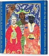 Some Wise Men Dem Canvas Print