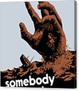 Somebody Talked - Ww2 Canvas Print