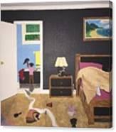 Someone's Awake Canvas Print