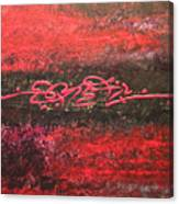 Something In Red Canvas Print