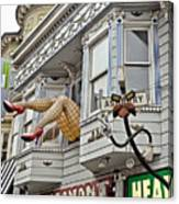 Something To Find Only The In The Haight Ashbury Canvas Print