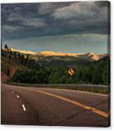 Sometime Life Throws You Curves, Enjoy The Ride Canvas Print