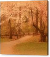 Sometimes - Holmdel Park Canvas Print