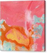 Somewhere New 2- Abstract Art By Linda Woods Canvas Print