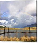 Somewhere Over The Rainbow Canvas Print