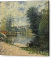 Sommarlandskap Canvas Print