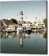 Sono Seaport Canvas Print