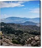 Sonoran Cliff Lookout Canvas Print