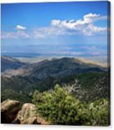 Sonoran Hillside Lookout Canvas Print