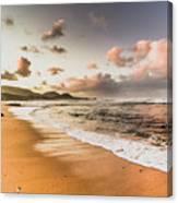 Soothing Seaside Scene Canvas Print