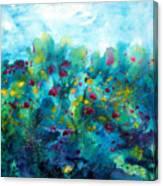Soren Splash Canvas Print