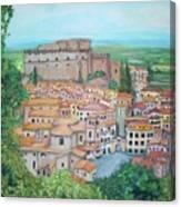 Soriano Nel Cimino  Canvas Print