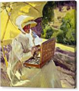 Sorolla: Painter, 1907 Canvas Print