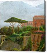 Sorrento Albergo Canvas Print
