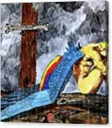 Sorrow's Angelic One Canvas Print