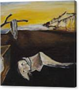 sorry Dali-itsGIFT Canvas Print