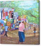Sosua Beach Canvas Print