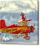 Soucy In Flight Canvas Print
