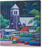 Soufriere Church Tower Canvas Print