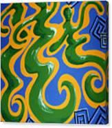 Soul Figures 4 Canvas Print