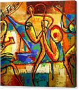 Soul Jazz Canvas Print