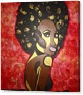 Soul Sista Number Five Canvas Print