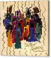 Soulful Sistahs Canvas Print