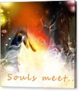 Souls Meet Canvas Print