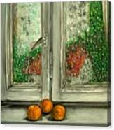 Sound Of Rain  Oil Painting Canvas Print