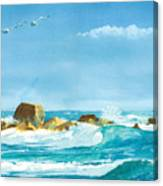 Sound Of Surf Canvas Print