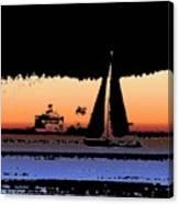 Sound Sailin 2 Canvas Print