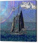Sound Sailin 5 Canvas Print