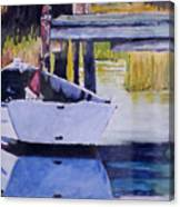 Sound Side Dock Canvas Print