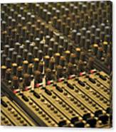 Soundboard Canvas Print