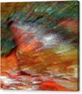 Sounds Of Thunder Abstract Canvas Print