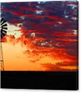 South African Sunrise Canvas Print